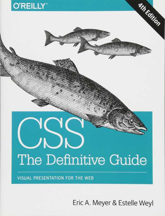 Book cover of CSS The Definite Guide